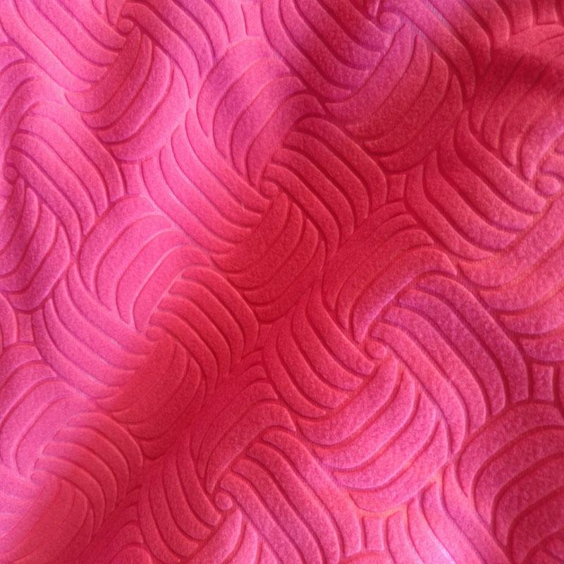 Polar fleece factory embossed polar fleece fabric 1