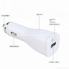 三星快充车充单口USB