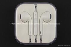 苹果6代耳机3.5mm earpods