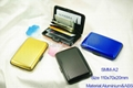 Aluminum card holder SMM-A2