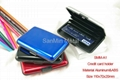 Aluminum card holder SMM-A8