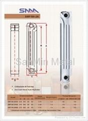 鋁合金壓鑄暖氣片