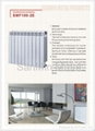 Extruded Aluminum Radiator SMF100-2E