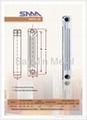 Die cast Bimetal Aluminum Radiator