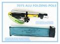 folding 7075 alu walking pole