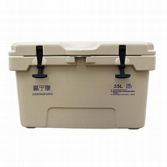 滾塑保溫箱35升 海釣箱
