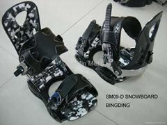 Snowboard binding /SM09-D