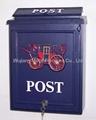 Wall mounting mailbox