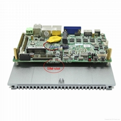 industrial pc with I3 3217U,dual core ,FANless computer