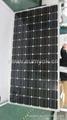 190W高效单晶太阳能发电板