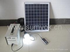 20W便携式太阳能系统