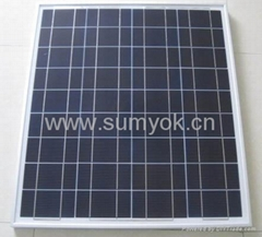 70W多晶太阳能组件