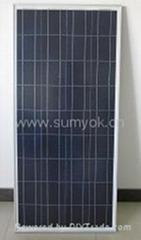 120-140W多晶标准板型太阳能发电板