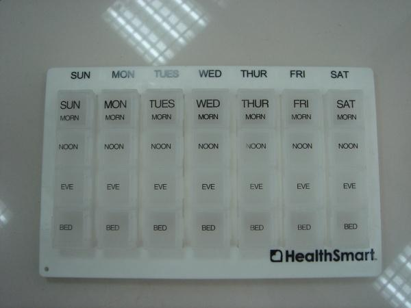 Weekly Pill Organizor