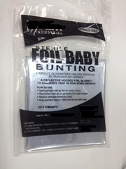 Foil Baby Bunting