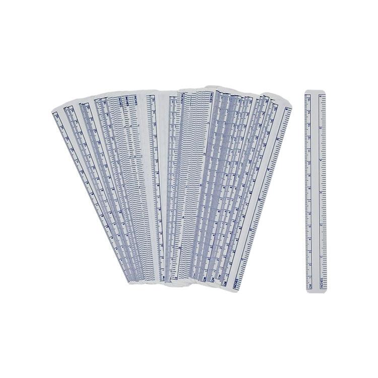 Disposable Waterproof PVC Wound Ruler Medical Surgical Safe Skin Marker Pen Rule 1