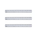 Disposable Waterproof PVC Wound Ruler Medical Surgical Safe Skin Marker Pen Rule 4