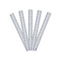 Disposable Waterproof PVC Wound Ruler Medical Surgical Safe Skin Marker Pen Rule 5