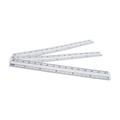 Disposable Waterproof PVC Wound Ruler Medical Surgical Safe Skin Marker Pen Rule 6