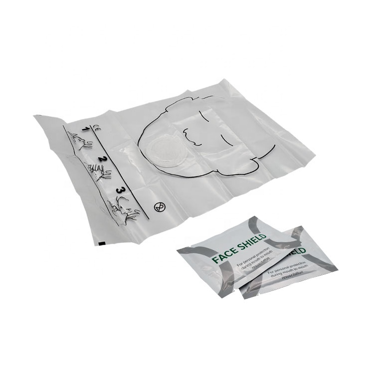 Disposable Emergency free breathing barrier CPR shield/CPR Face Shield/CPR Mask 5