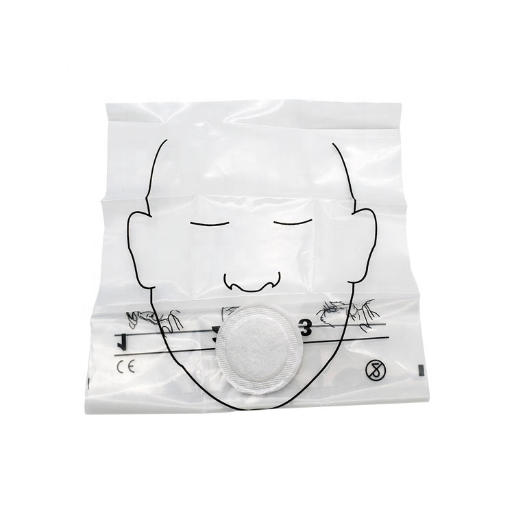 Disposable Emergency free breathing barrier CPR shield/CPR Face Shield/CPR Mask 1