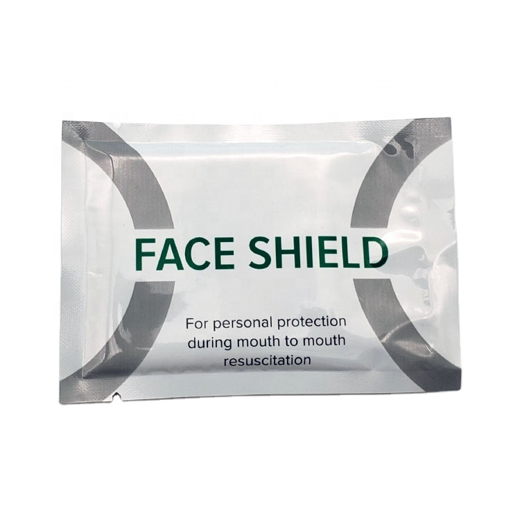 Disposable Emergency free breathing barrier CPR shield/CPR Face Shield/CPR Mask 6