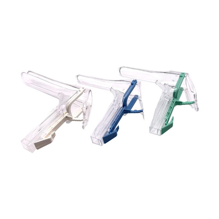 Manufacture Disposable medical plastic cusco speculum 2