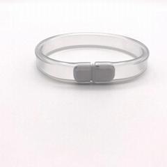 transparent color SoftLink comfort ID Identification band medical ID band