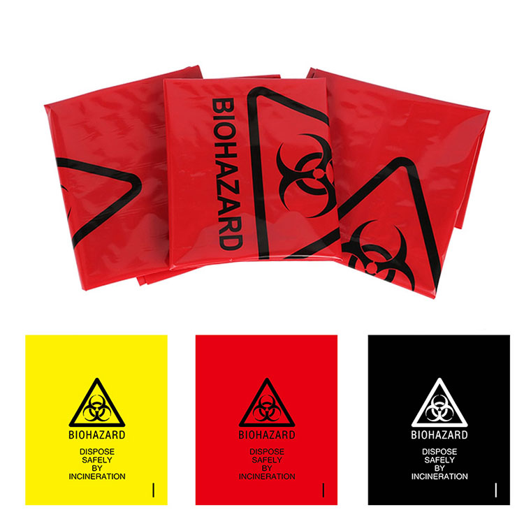 Disposable Medical Waste Bags used in hospitals Clinical garbage bags  3