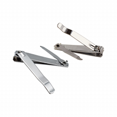 Private Label Finger Nail Clipper Stainless Steel with File nail cutter
