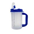 Plastic Insulated mug Graduated Insulated Carafe - Clear,
