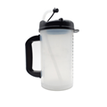 Multi-color reusable cup plastic Insulated mug Clear Insulated Graduated Carafe