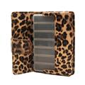 Pill  Box Wallet Travel Organizer Dispenser Storage Case with PU Leather bag 3