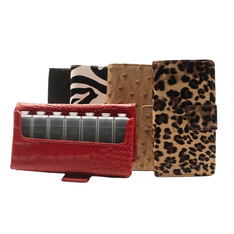 Wallet Pill Box