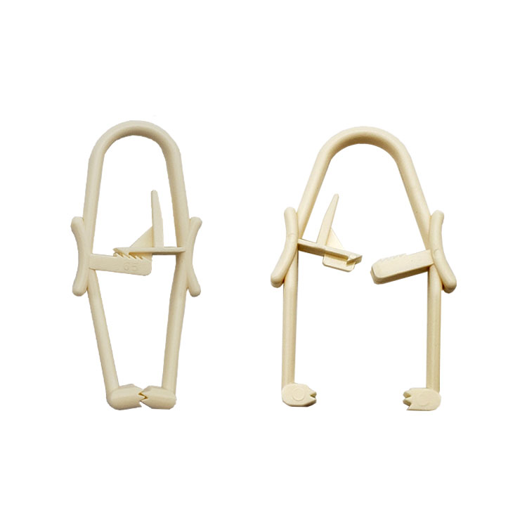 Disposable Medical Surgical Plastic Towel Clamp Clip  1
