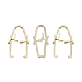 Disposable Medical Surgical Plastic Towel Clamp Clip  8
