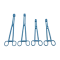 surgical plastic medical forceps sponge thumb tweezers forceps  5