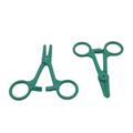 Hospital Disposable Medical Plastic Surgical Forceps Plastic HemostaticTweezers  4