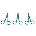 Hospital Disposable Medical Plastic Surgical Forceps Plastic HemostaticTweezers  5