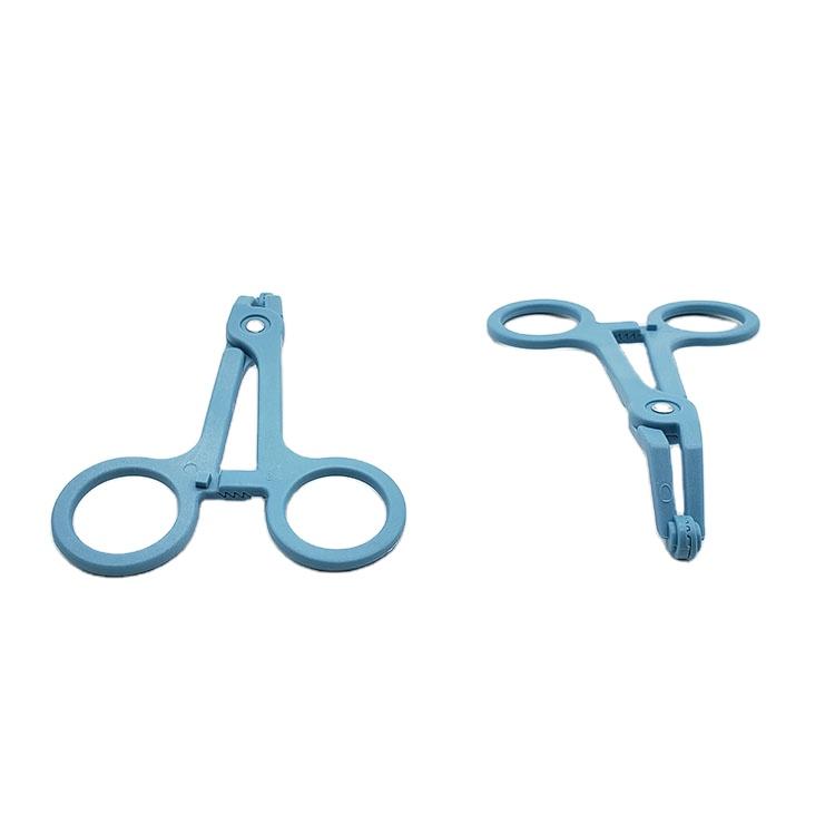 Disposable plastic forceps Medical consumables Plastic Tweezers  1