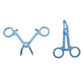 Disposable plastic forceps Medical consumables Plastic Tweezers  3