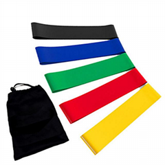 Fitness Equipment Resistance Bands Home Set Customized China Logo Latex Free