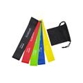 Custom Logo Printing Exercise Fitness Resistance Loop Bands 5 PCS Set