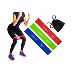 2020 New Design Custom Logo Exercise Loop Bands resistancet bands