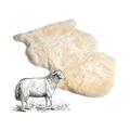 Natural &Synthetice sheepskin&beside bag