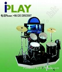 Jazz drum Coin-operated music game machine