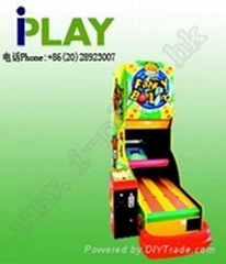 Bowling game machine ver 2 Amusement game machine