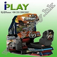FAST & FURIOUS SUPER CARS DRIVING GAME MACHINE
