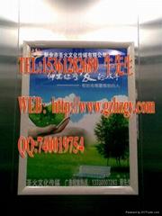 仿大理石電梯廣告相框