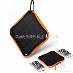 新款戶外三防太陽能移動電源 手機充電寶